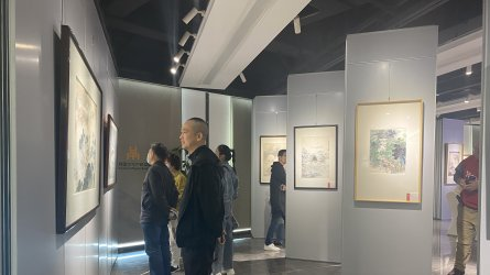 中国界画第一人——徐照海中国画作品展在湖南日报美术馆揭幕